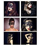 Women's Black Lace Mask Party Ball Masquerade Fancy