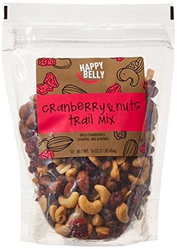 Amazon Brand - Happy Belly Cranberry & Nuts Trail Mix, 16 ounce (Trail Mix Cranberry)