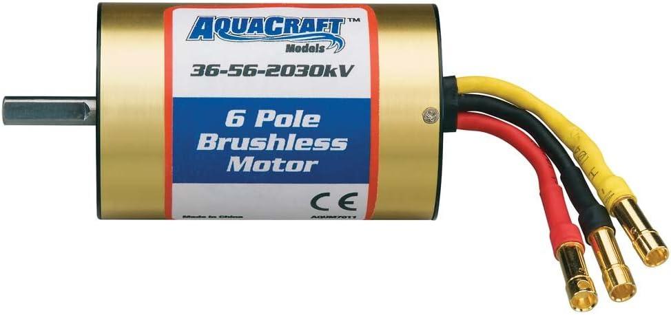 Aquacraft 36-56-2030 UL1 Brushless 6-Pole Marine Motor 51w5f827YOLSL1000_