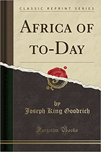 Book Africa of to-Day (Classic Reprint)