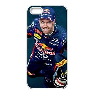 Sebastian Vettel Red Bull White Phone Case for Iphone 5s