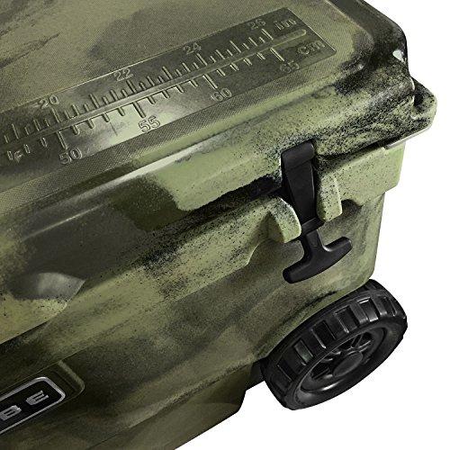 Vibe Element 70 Quart Rotomolded Hard Shell Cooler with Bottle Opener | Hunter Camo by Vibe Kayaks (Image #2)