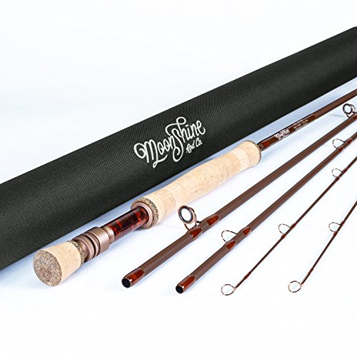 Moonshine Rod Co. The Drifter Series Fly Fishing Rod (Matte, 7WT 10' ()