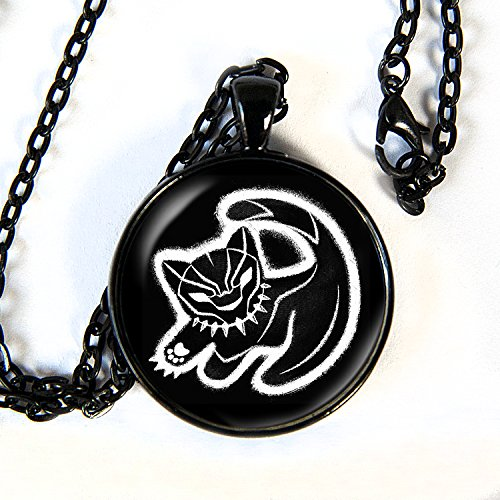 T'challa Costume (Black Panther comic/movie necklace - HM)