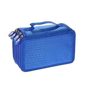 Multifunctional Large Capacity Painting Cosmetic Pencil Case Pen Brush Bag Box