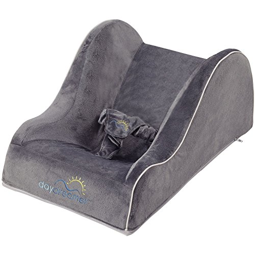 Dexbaby Day Dreamer Sleeper Floor Seat And Baby Lounge Gray