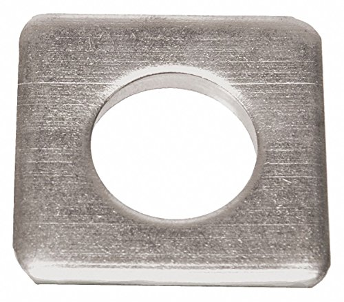 Square Washer, Steel, Fits Bolt 2'' - pack of 5 by GRAINGER APPROVED (Image #1)