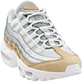 Nike Women's Air Max 95 SE PRM Pure Pltinum/Metallic Silver AH8697-002 (Size: 9)