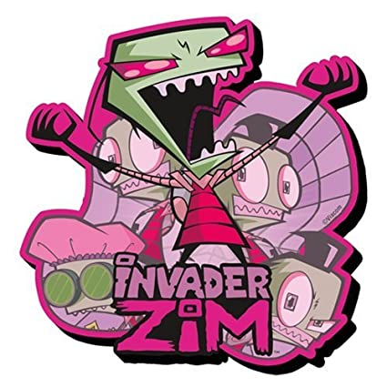 amazon com invader zim funky chunky magnet toys games