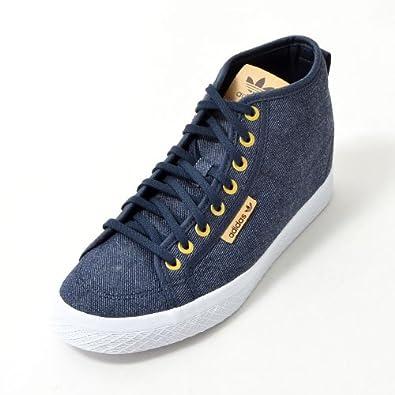 adidas スニーカー インヒール
