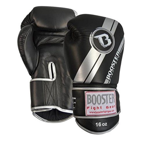 Silber Booster Boxhandschuhe PRO V3 Leder