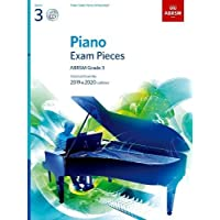 Piano Exam Pieces 2019 & 2020, ABRSM Grade 3, with CD: Selected from the 2019 & 2020 syllabus (ABRSM Exam Pieces)