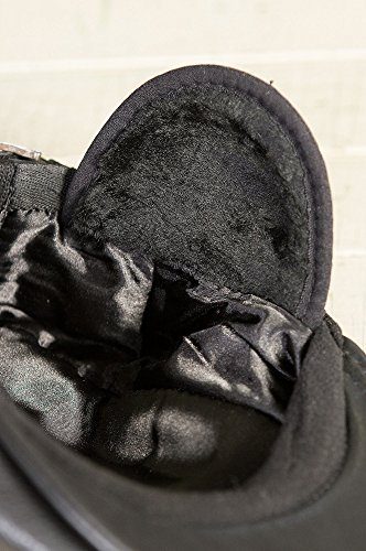 Overland Sheepskin Co. Allen Leather IVY Cap, Black, Size Large (7 1/4-7 3/8) by Overland Sheepskin Co (Image #9)