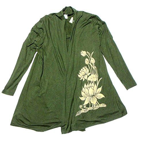 エスニックアジアンカーディガン蓮の花エスニック衣料
