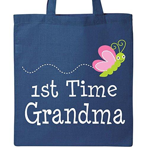 Inktastic - 1st Time Grandma annoucement Tote Bag Royal Blue 24852
