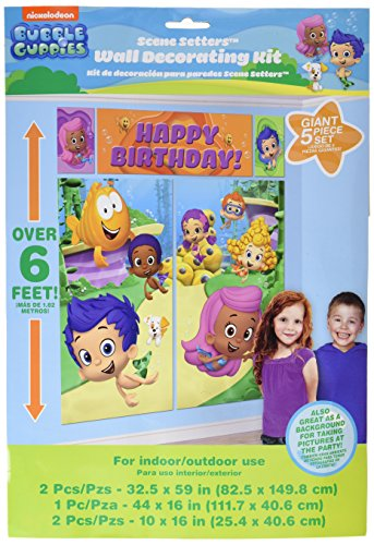Bubble Guppies Wall Poster Decorating Kit (5pc) -