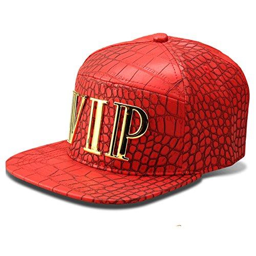 deportes de béisbol de sintética Snapback Rosso hip chapado estilo sombrero gorra en oro mcsays ajustable sombreros colgante hop moda VIP piel 7TfwAxqZO