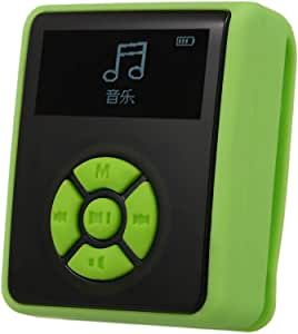 Gecheer IPX7 Waterproof MP3 Player 8GB Music Player with Headphones FM Radio for Swimming Running Diving Support Pedometer