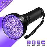 UV Flashlight Black light Firstbuy Super Bright 100 LED Best Powerful Black Light Flashlight 395NM Ultraviolet Urine Detector Flashlight for Home & Hotel Inspection (99 LED Black Light)