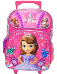 Disney Princess Sofia the First Fairy Large 16 Rolling Backpack