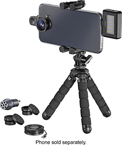 Insignia Mobile Photography Kit Black NS-MPKIT50 by InsigniaTM