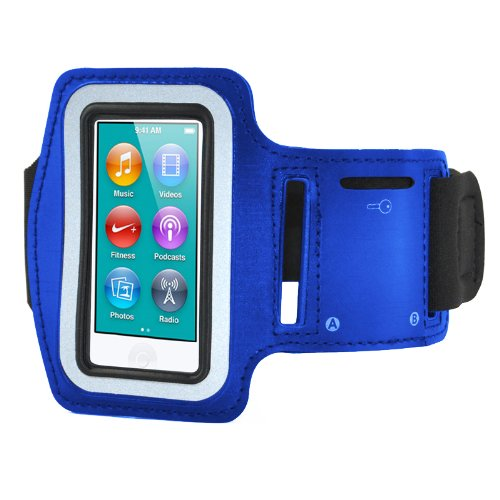 Sport in corso fascia da braccio cassa sacchetto per Apple iPod Nano 7 /& chiave TOOGOO R