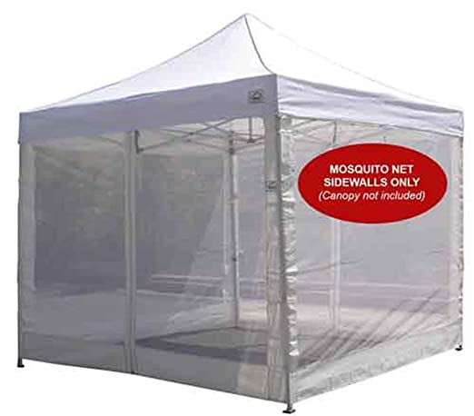 Amazon.com Impact Canopy Side Wall Kit Mesh Screen Zippered Wall Panels for 10x10 Instant Pop Up Tent Canopies Walls Only White Garden u0026 Outdoor  sc 1 st  Amazon.com & Amazon.com: Impact Canopy Side Wall Kit Mesh Screen Zippered Wall ...