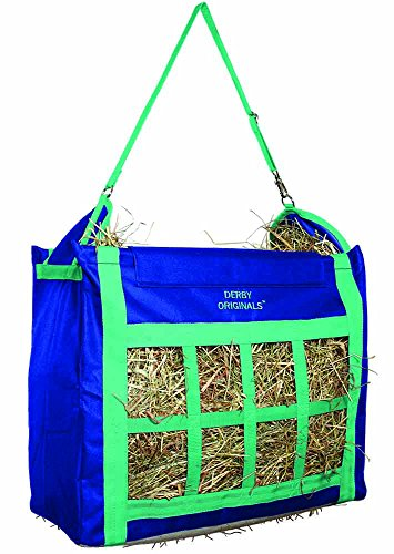 Derby Originals Supreme Nylon Top Loading Hay Bags with Adjustable Carry Strap ()