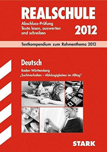 Text-Kompendium Realschule - Deutsch Baden-Württemberg