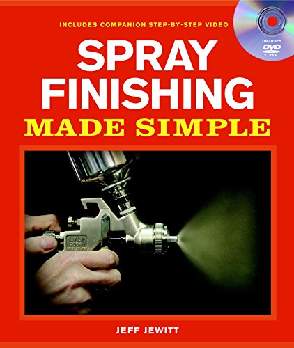 Spray Finishing Made Simple: A Book and Step-by-Step Companion DVD (Made Simple (Taunton - Finishing Paint