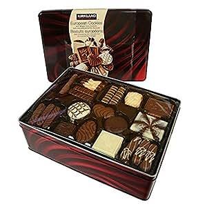 Kirkland Signature European Cookies With Belgian Chocolate   Ounce