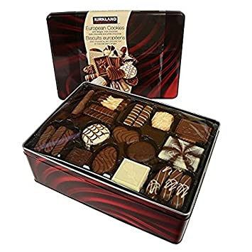 Artmusekitsmikash Kirkland Signature European Cookies With Belgian Chocolate 49 4 Ounce
