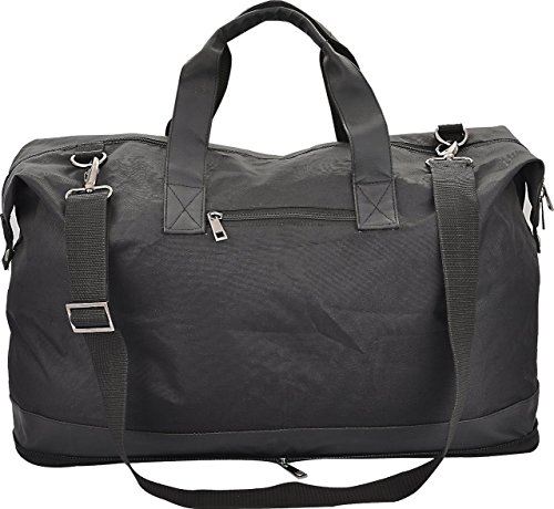 Compact Travel Duffel Bag For Men & Women. Foldable Duffle For Luggage Gym SportsWeekender Overnight
