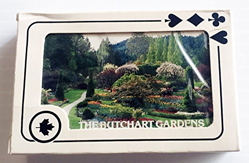 (The Butchart Gardens, Canada Tourist Promotional Playing Cards)