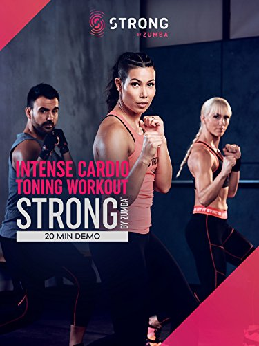 STRONG by Zumba Intense Cardio and Toning 20 min Workout featuring Michelle Lewin (Best High Intensity Interval Training Workout Videos)