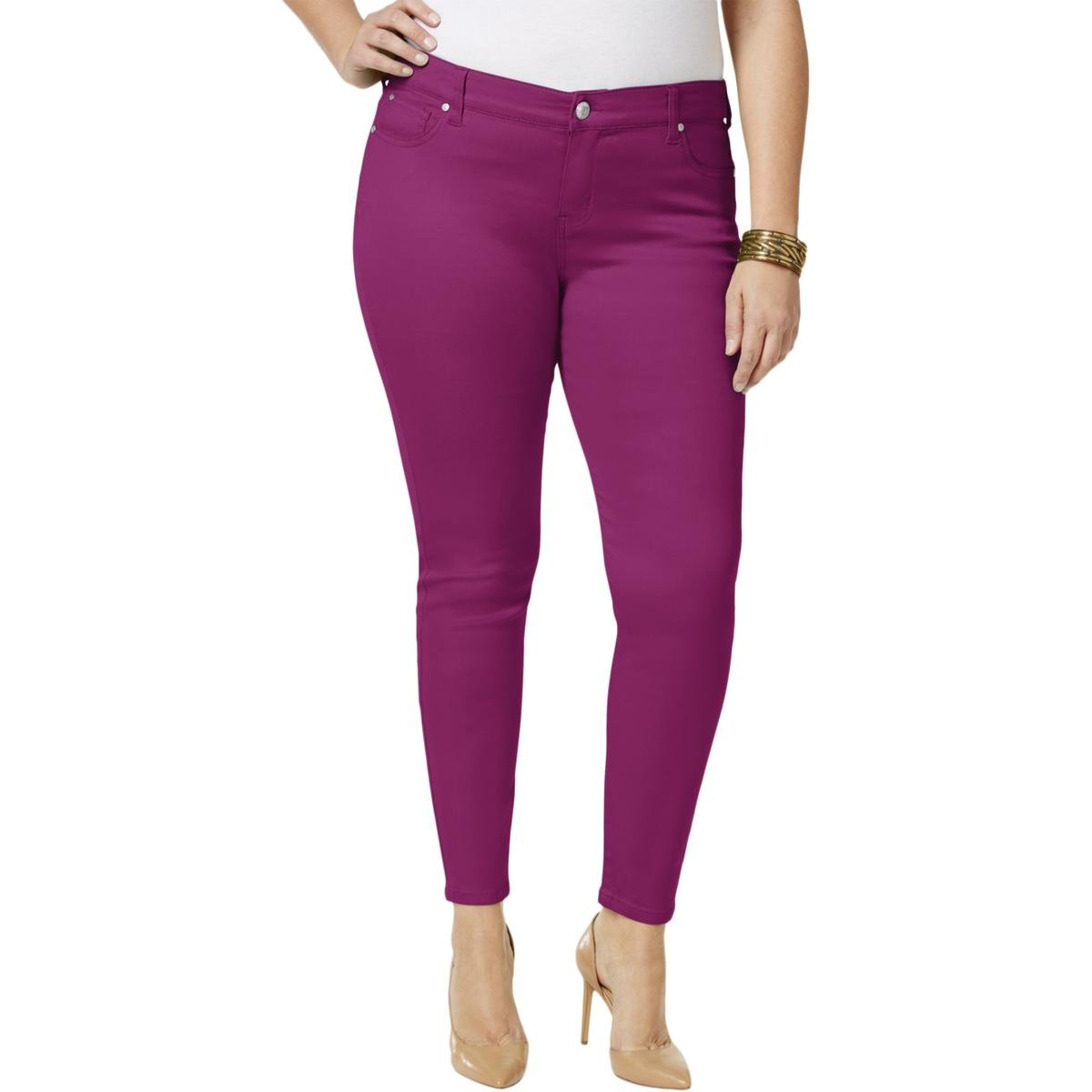Celebrity Pink Womens Denim Colored Skinny Jeans