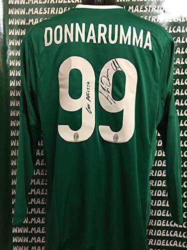 """87c37a689eb392 Maglia Gara Home """"Donnarumma 99"""" Autografata A.C. Milan 2017/2018"""