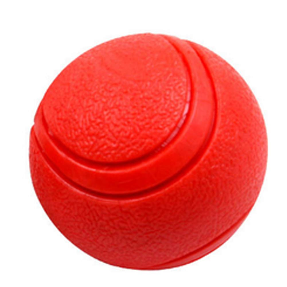 Thumbelin Perro De 1pc La Bola del Juguete Pr/ácticamente Indestructible Pelota Perro Pet Pelotas De Juguete para Jugar B/éisbol Formaci/ón Chew Toy Caucho Natural 5 Cm Rojo