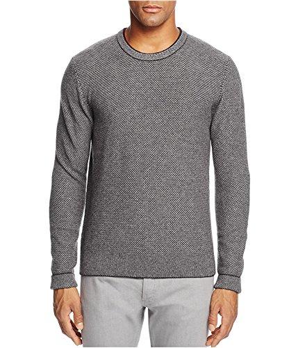 Bloomingdale's Mens Wool and Cashmere Blend Pullover Sweater Raisin - Men Bloomingdale