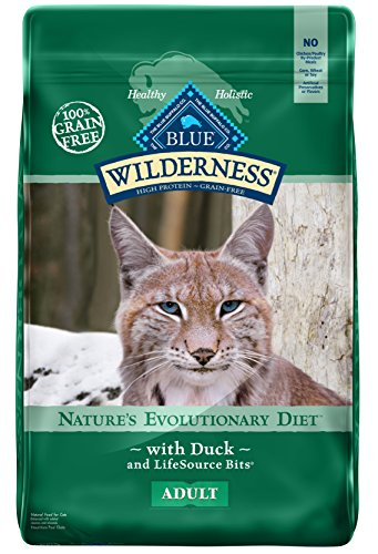 BLUE Wilderness Adult Grain Free Duck  Dry Cat Food 11-lb