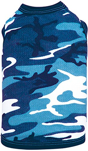 inderamills ColdWoof Pet Thermal, Small, Navy Camouflage