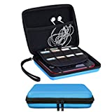 SIMPZIA Travel Carrying Case for Nintendo 2DS with Game Storage Hard EVA Shatter-Resistant /Water-Resistant Protective Bag/Cover -Blue