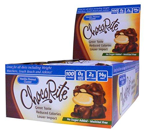 (ChocoRite ChocoRite Vanilla Peanut Cluster, Vanilla Peanut Cluster, 18 Ounce)