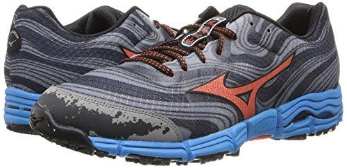 Mizuno Wave Kazan Hombre US 14 Azul Zapato para Correr