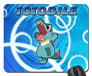 Totodile Mouse Pad, Mousepad (10.2 x 8.3 x 0.12 inches)