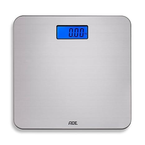 ADE Báscula digital de baño BE 1505 Chloe. Electrónica, en acero inoxidable. Capacidad