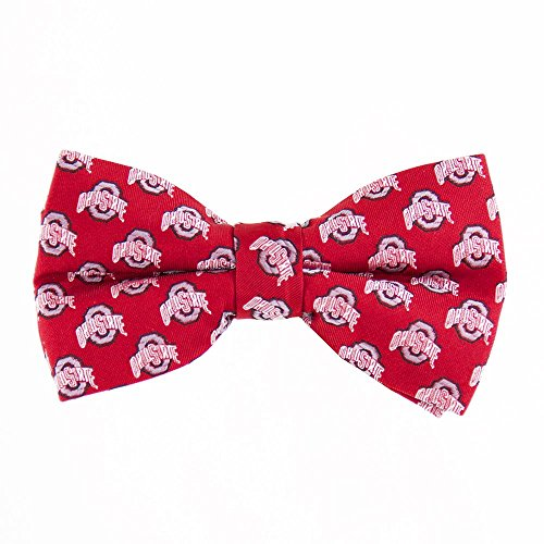 NCAA Ohio State Buckeyes Repeated Logo Bow Tie - Scarlet
