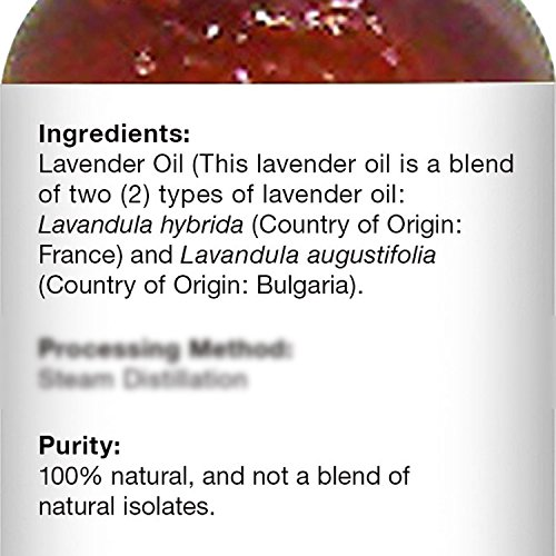 Majestic Pure Lavender Oil, Natural, Therapeutic Grade, Premium Quality Blend of Lavender Essential Oil, 4 fl. Oz by Majestic Pure (Image #7)