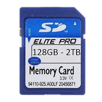 Amazon.com: Elite Pro - Tarjeta de memoria para videocámaras ...