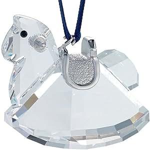 Swarovski Crystal Rocking Horse Ornament